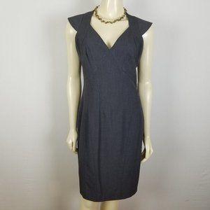 Marc New York cap sleeve gray dress 6